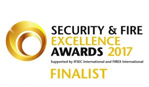 Security Fire Excellence Awards Finalist Logo